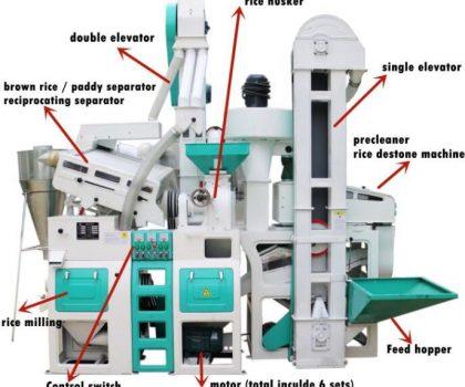 rice mill machinery china