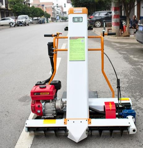 Paddy rice collection machine